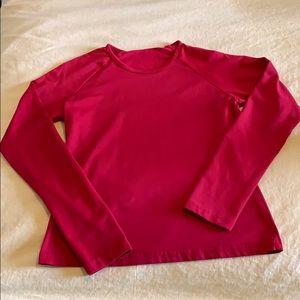 Red long sleeve Esprit shirt (juniors)